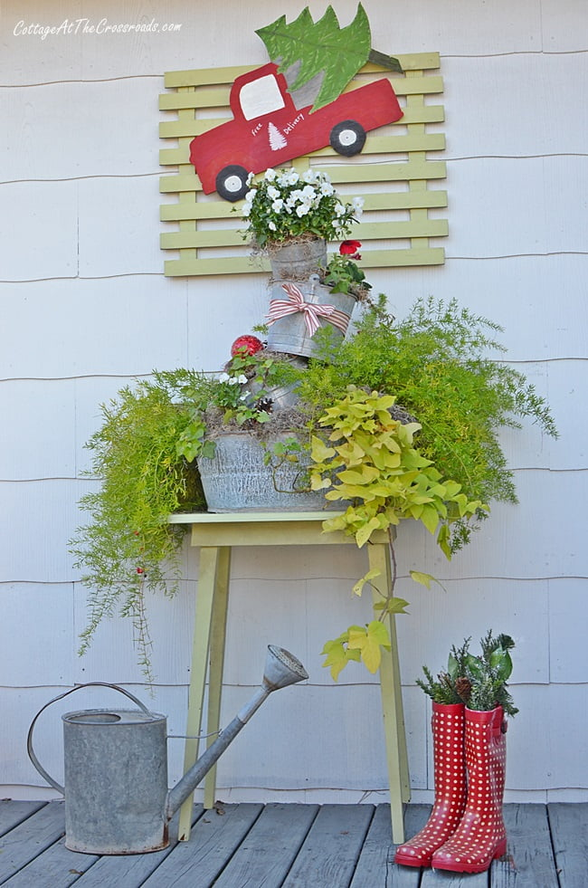 outdoor farmhouse christmas decorations - Farmhouse Outdoor Christmas Decorations