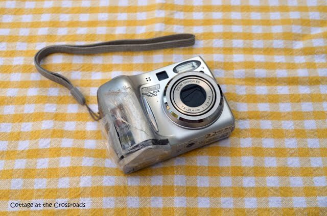 old point and shoot camera