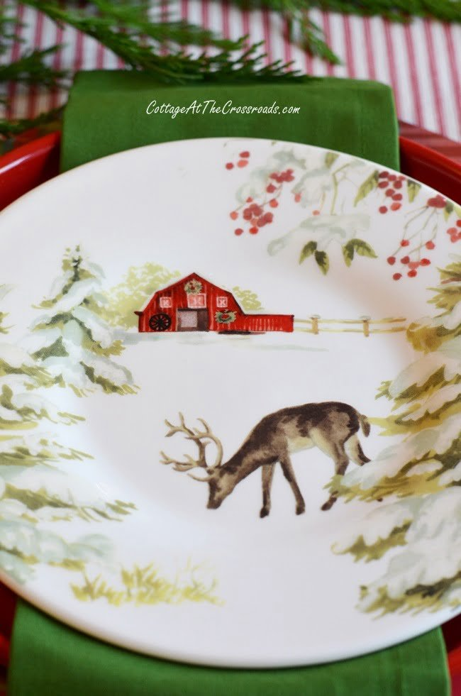 Southern Living Christmas plates from Dillards