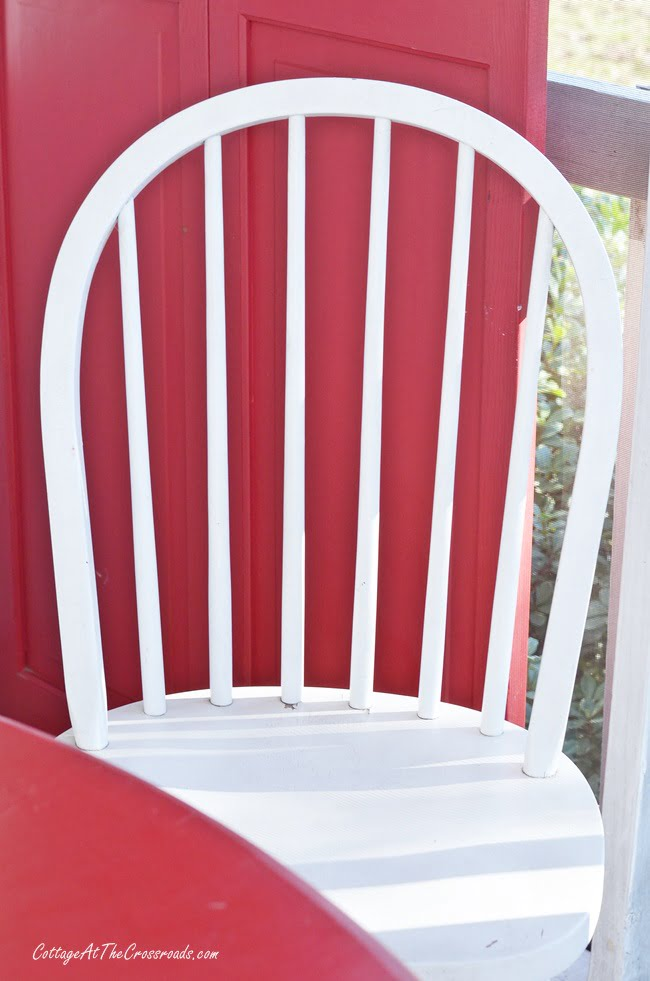 round back Windsor chair