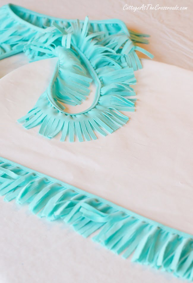 fringed trim