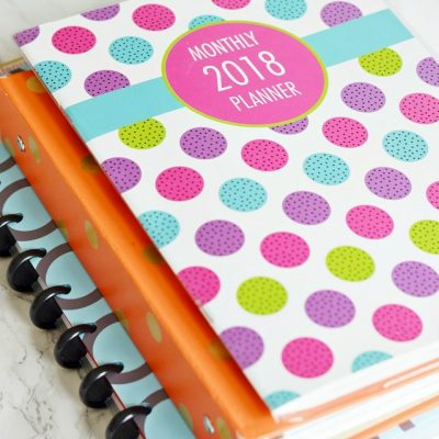 Three Planners I'm Using to Stay Organized