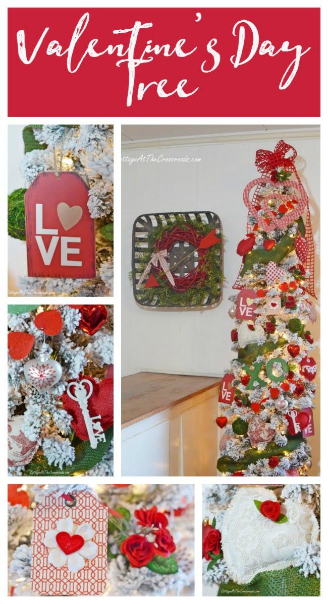 Valentine's Day Tree graphic