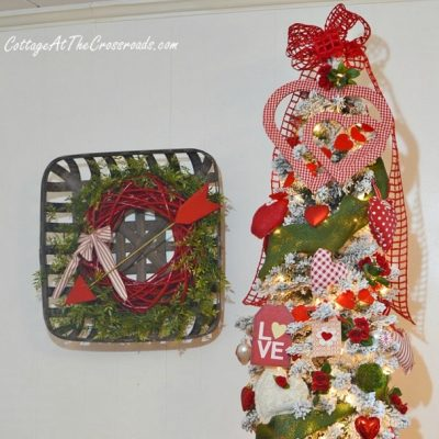 Valentine's Day Tree and Wreath