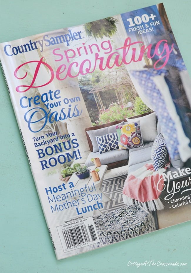 Country Sampler Spring Decorating magazine feature