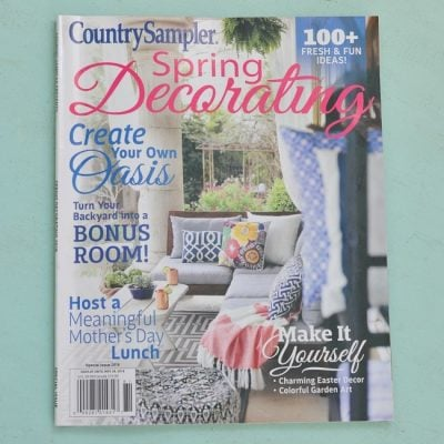 Spring Decorating Country Sampler magazine