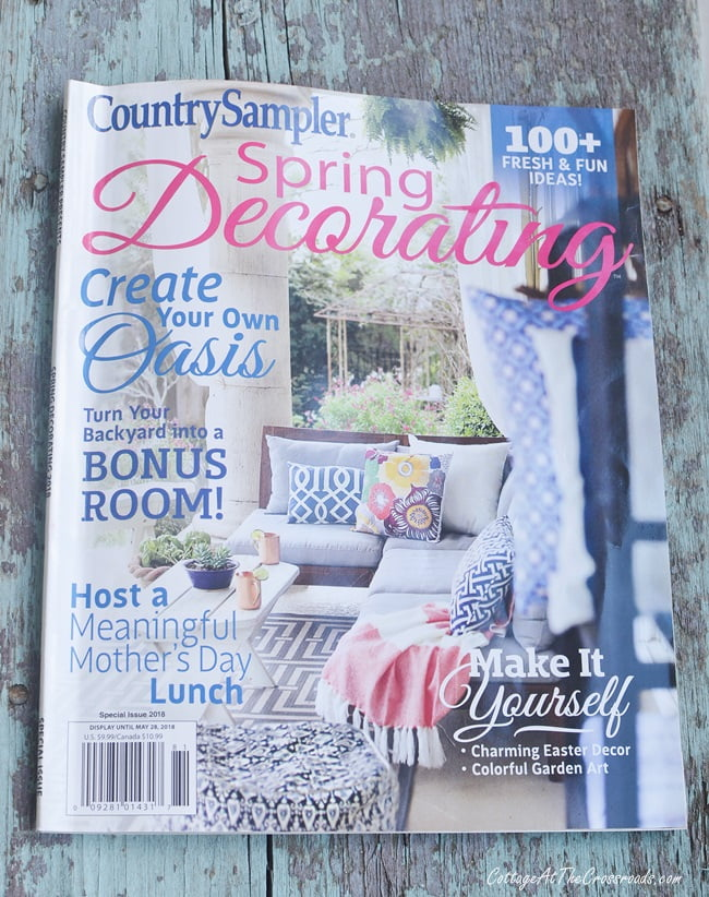 Country Sampler Spring Decorating 2018 issue