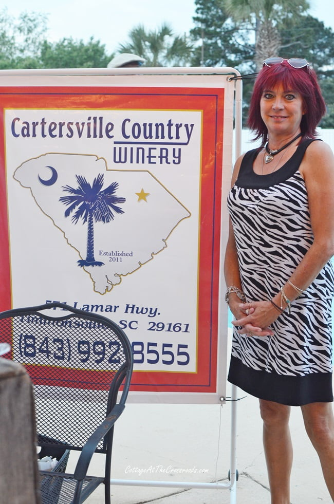 Cartersville Country Winery at the Civitan party