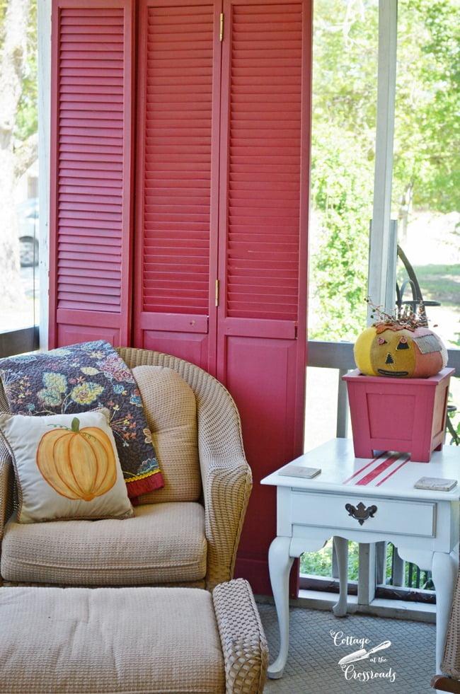 thrifty repurposed closet doors