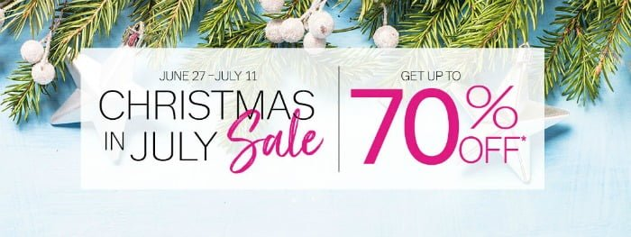 Thirty-One Christmas in July Outlet Sale