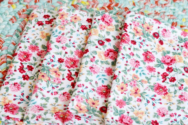 Thrifty Cloth Napkins - Cottage at the Crossroads