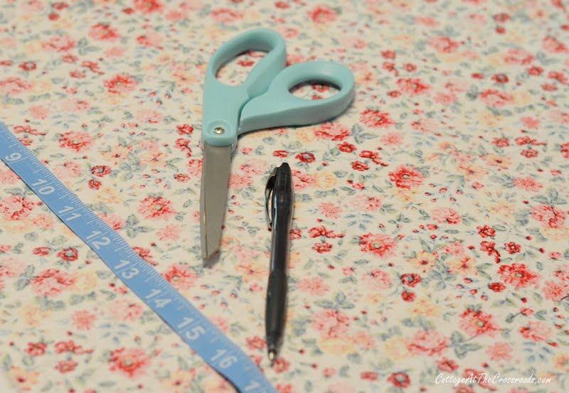 supplies to make cloth napkins