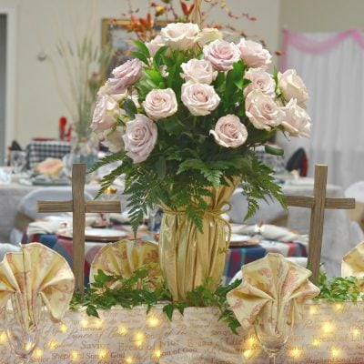 Tablescape Fundraiser Tips and the Guest Table