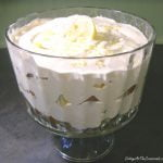 Lemon Silk in a trifle bowl