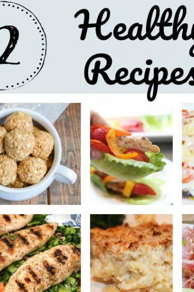 12 Healthy Recipes
