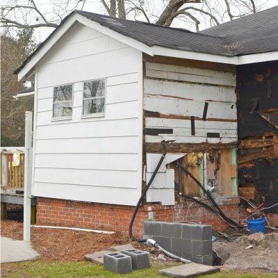 renovation plans and progress