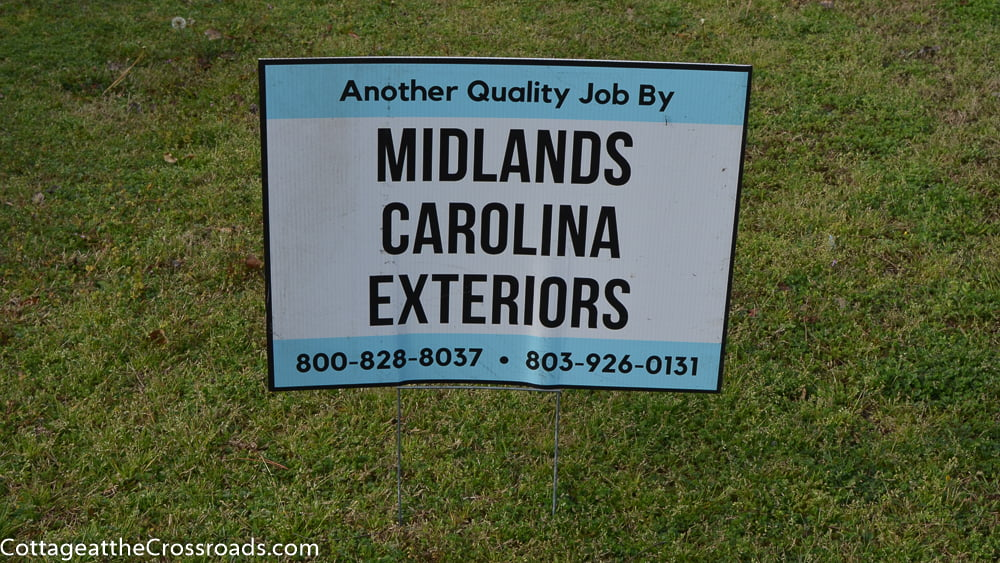 Midlands Carolina Exteriors sign