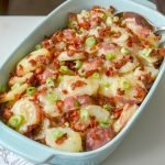Warm German Potato Salad with Bacon
