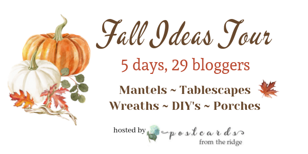 Fall Ideas Tour-fall decorating inspiration from 29 home decor bloggers