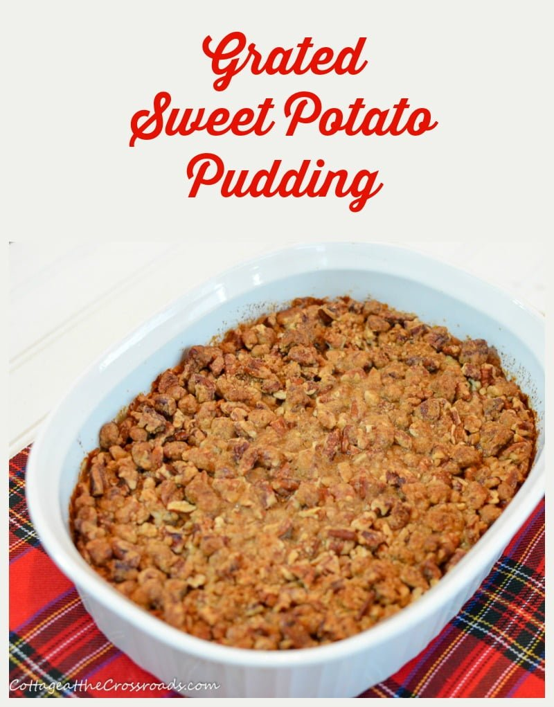 Grated Sweet Potato Pudding graphic