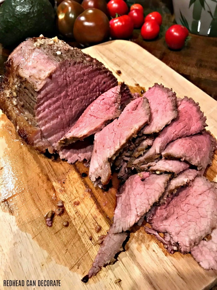 Roast Beef recipe from Redhead Can Decorate