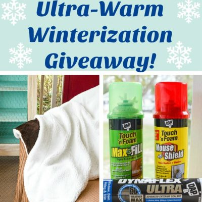 Winterization Giveaway-items to keep you warm inside and outside