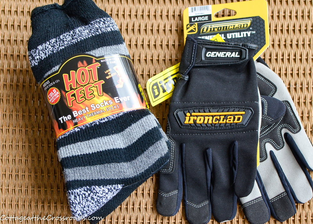 Hot Feet Heated Socks and Ironclad Work Gloves