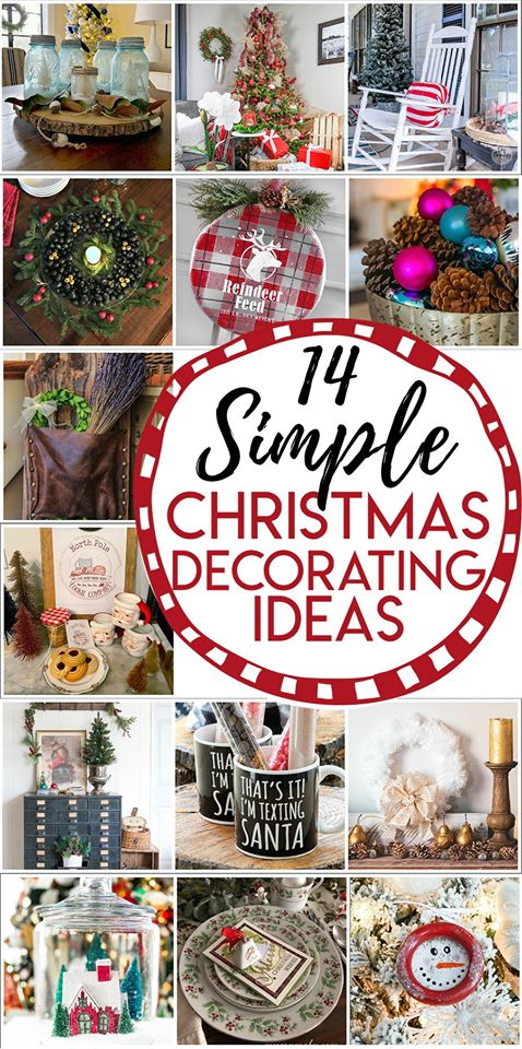 14 Simple Christmas Decorating Ideas from the Thrifty Style Team