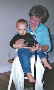 Mom with great grandson
