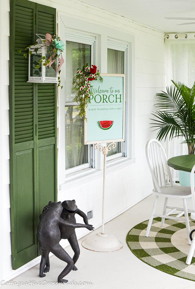 screen porch reveal