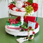 watermelon tiered tray