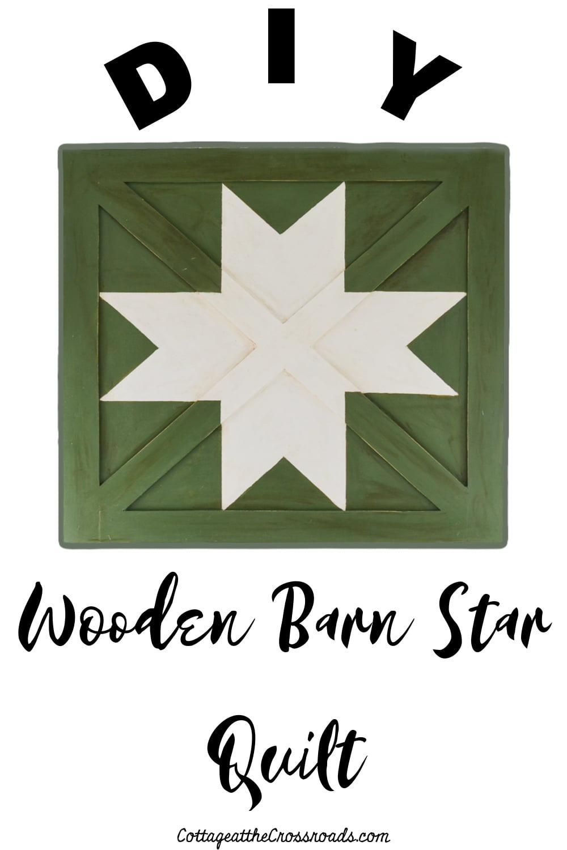 Wooden Barn Star Quilt graphic