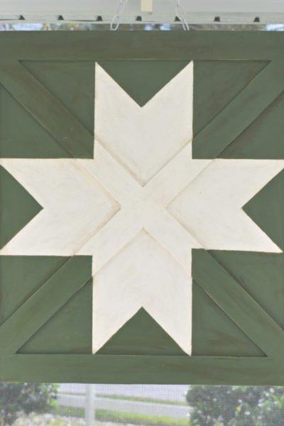 diy wooden barn star quilt