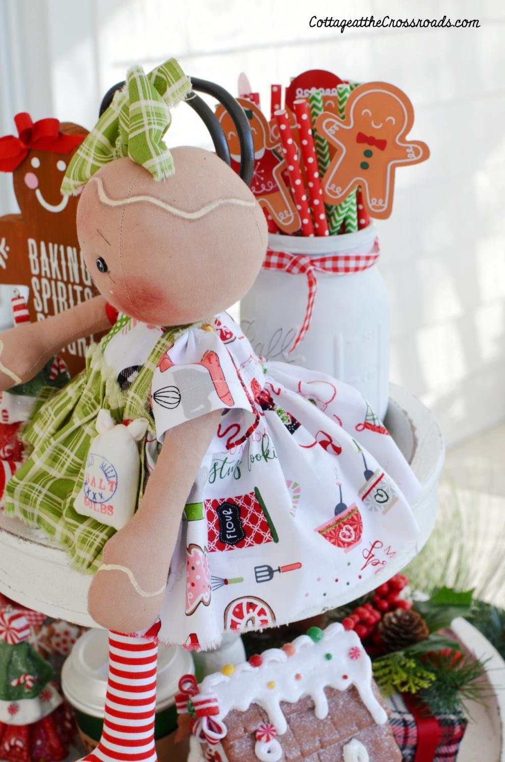 gingerbread doll dress