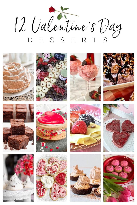 Thrifty Style Team Valentines Day Desserts graphic