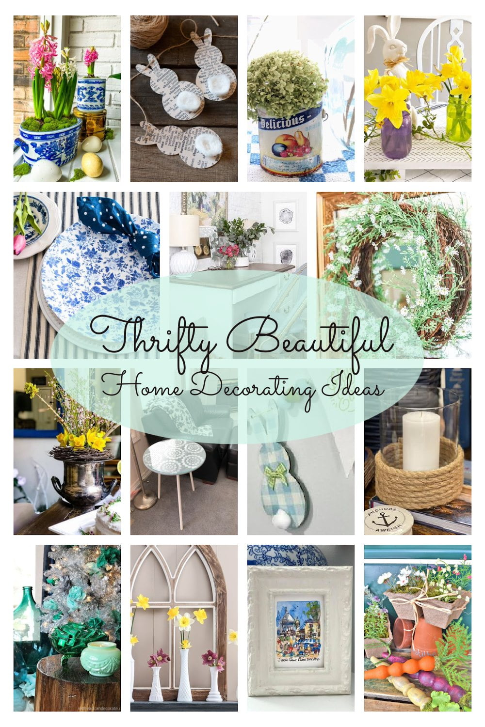 Thrifty Home Decorating Ideas graphic