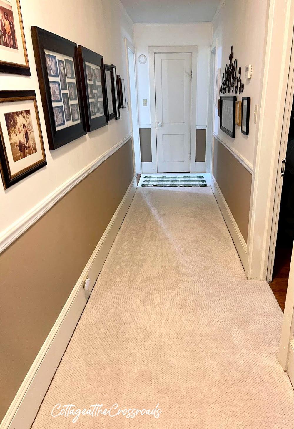 new carpet in hallway