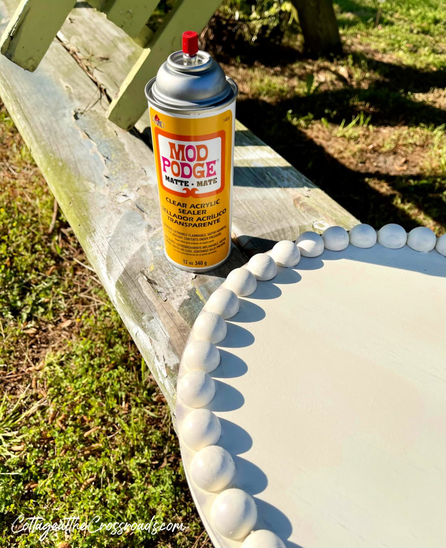 spray matte sealant