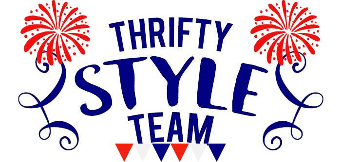 Thrifty Style Team Patriotic Graphic