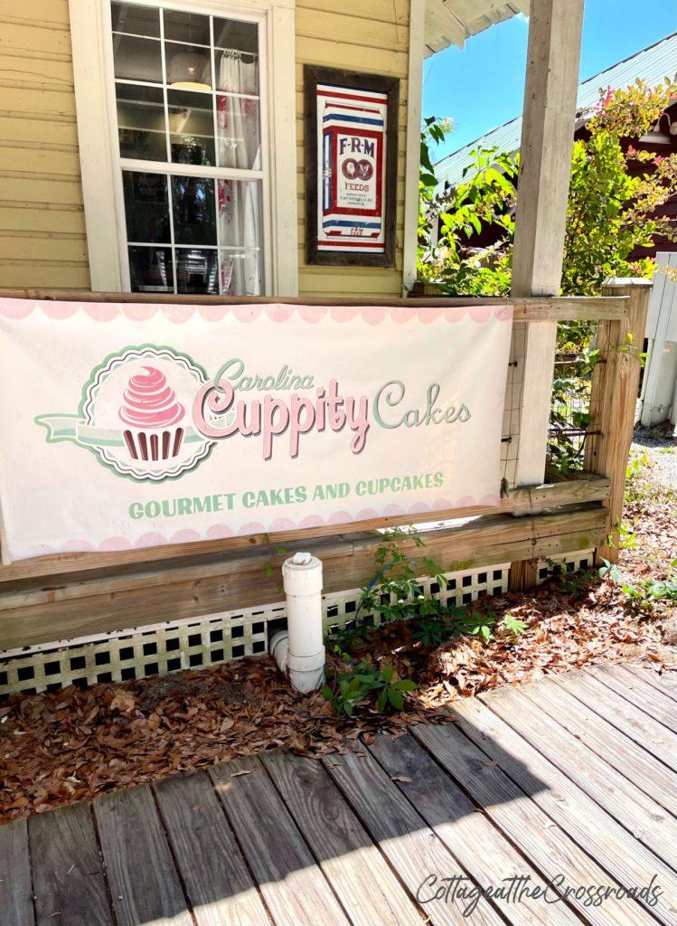 cupcake shop at Port Royal SC